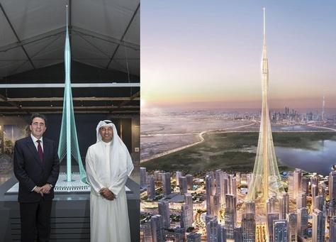 إطلاق برج خور دبي أعلى مبنى في العالم بحلول عام 2020