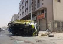 """شاهد ما فعلته قوات الأمن مع سائق """"شيول"""" حطم 15 سيارة بمكة (صور وفيديو)"""