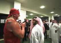 بالصور.. لقاء خاص بين تركي آل الشيخ وهوجان
