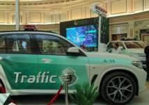 إدارة المرور السعودية تعرض BMW X5 M لأول مرة بمؤتمر السلامة المرورية (صور)