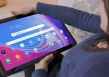 بالفيديو-  سامسونج تكشف عن تابلت عملاق بحجم التلفاز.. والسعر؟