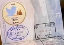 هكذا تم استقبال رئيس تويتر في مطار دبي