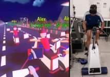 للرياضيين..تطبيق مبتكر للتسابق مع الواقع الافتراضي
