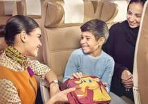 السفر مجاني للأطفال عبر الاتحاد للطيران
