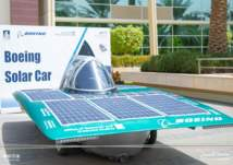 أول سيارة محلية تعمل بالطاقة الشمسية في السعودية (صور)