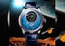 """ساعة فريدة بطابع """"مسبار الأمل"""" من لويس موانيه"""