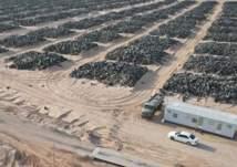 الكويت: تحويل أكبر مكب للإطارات في العالم لمدينة سكنية