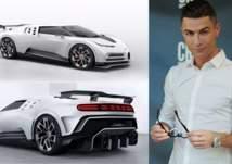 سيارة فاخرة تنضم لاسطول رونالدو .. بسعر 10 ملايين يورو