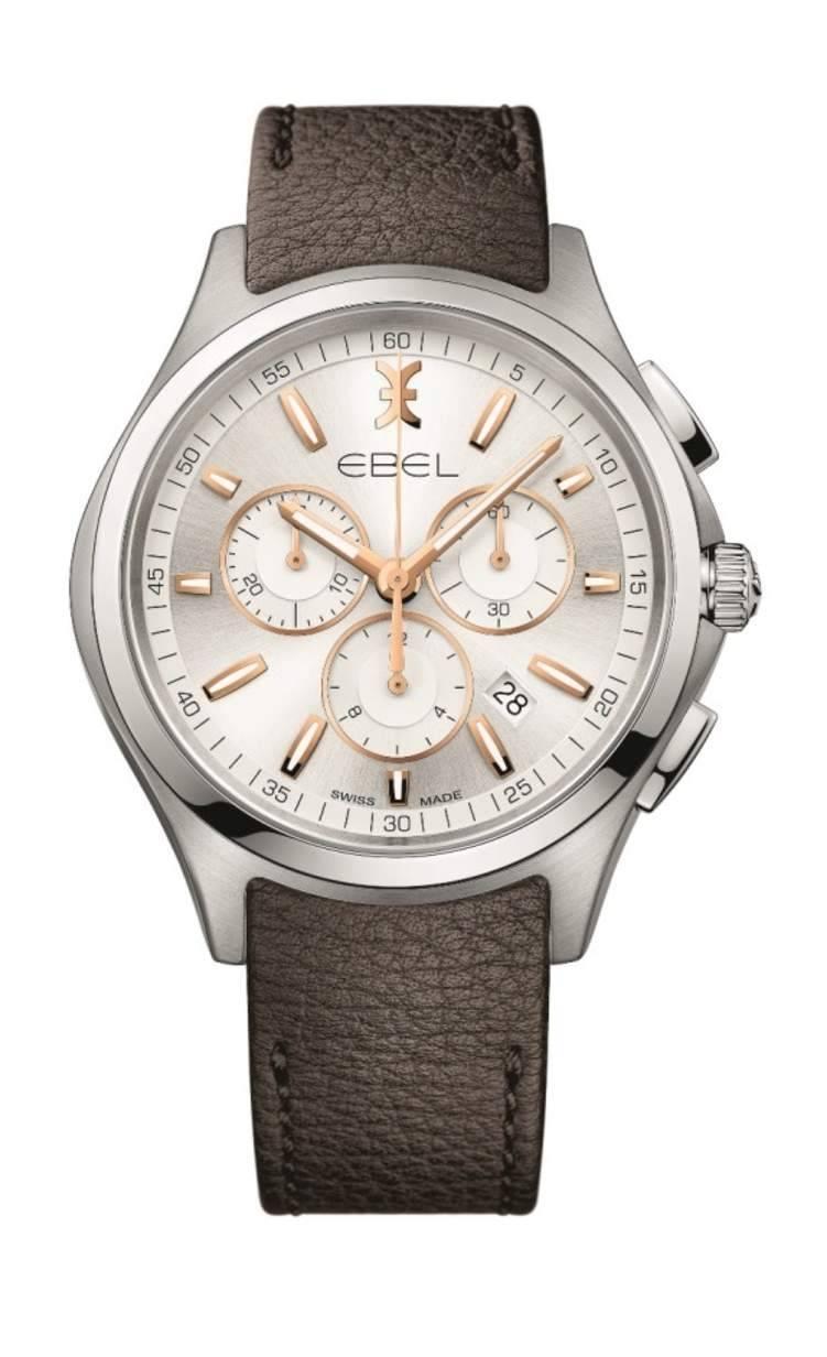 للرجل الكلاسيكي المميز: ساعة EBEL WAVE CHRONO