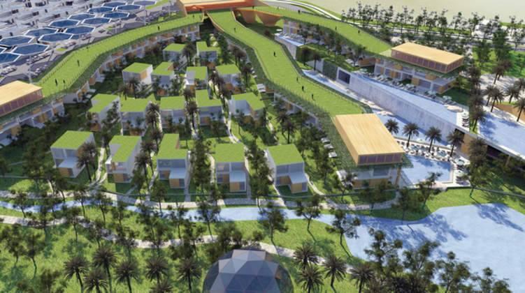 مدينة دبي المستدامة تحصل على لقب أفضل مشروع سكني بالشرق الأوسط