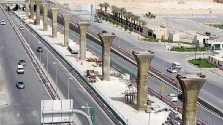 """إنجاز 45% من مشروع """"مترو الرياض"""""""