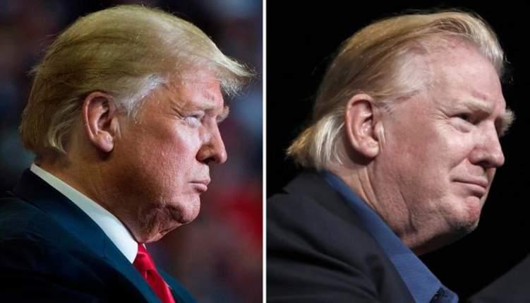 """لأول مرة """"ترامب"""" يغير تسريحة شعره .. والأمريكيون يخمنون السبب!"""