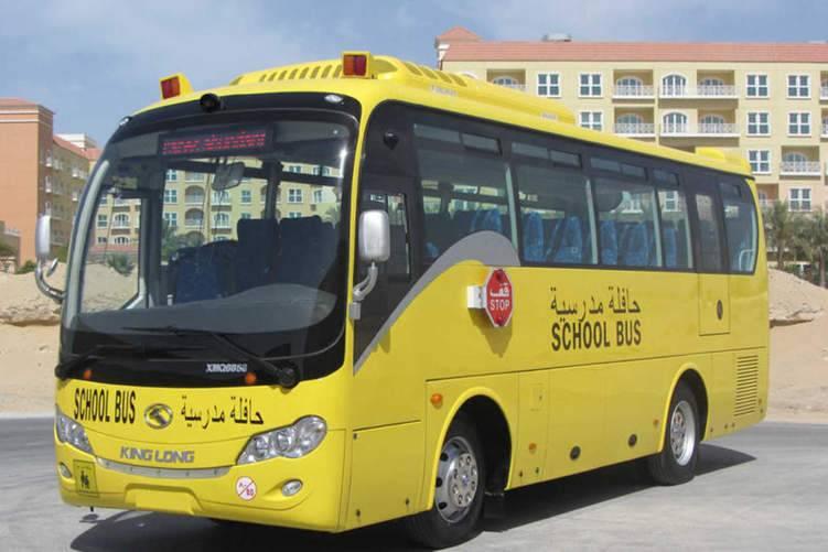 طالب يوقف حافلة مدرسية بعد وفاة سائقها في السعودية!