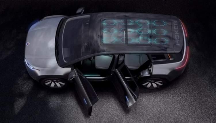 Ocean السيارة الكهربائية الجديدة لفيسكر
