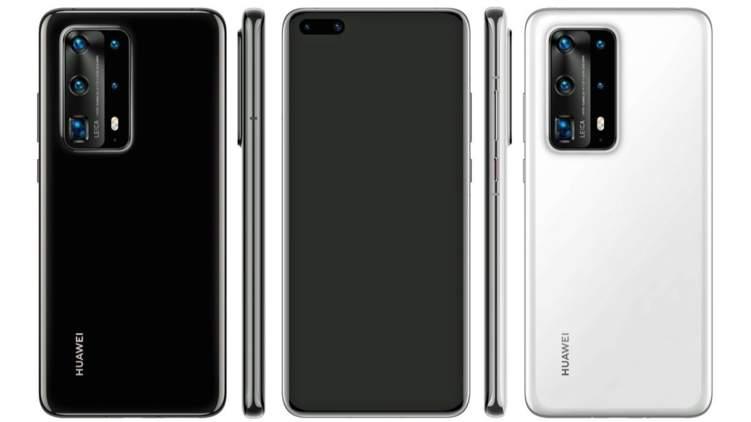مواصفات عملاقة في تصميم هاتف هواوي P40