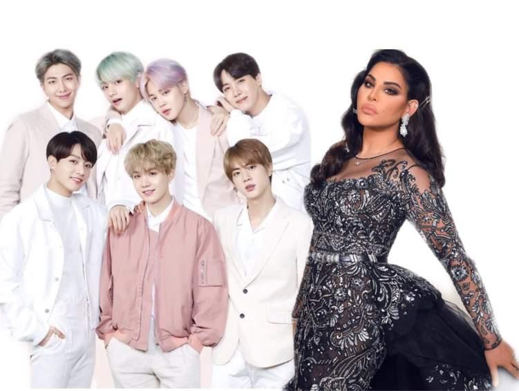 ما حقيقة  تعاون أحلام مع الفرقة الكورية BTS؟