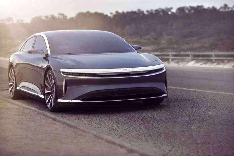 السعودية تدعم السيارة الجديدة من لوسيد موتورز