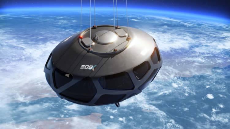 من دبي سافر إلى الفضاء على متن كبسولة