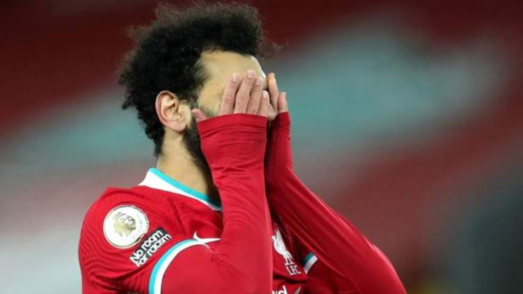 ردود فعل قاسية وساخرة على أداء محمد صلاح في السوشيال ميديا
