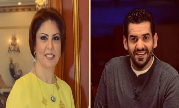 """""""فال شؤم"""" فجر السعيد تسخر من حسين الجسمي على تويتر"""