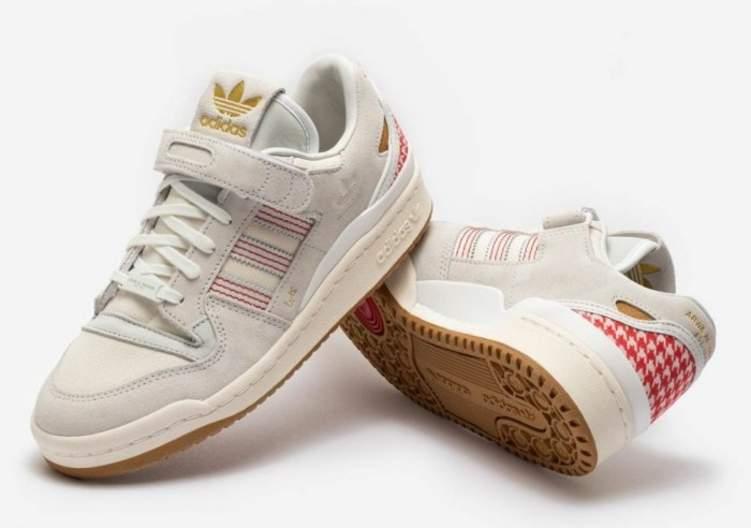"""بأنامل سعودية.. تصميم حذاء رياضي مستلهم من """"الشماغ"""""""
