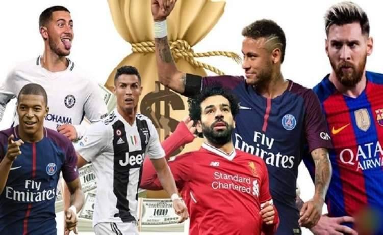 أغلى 100 لاعب في العالم.. بينهم 3 لاعبين عرب فقط