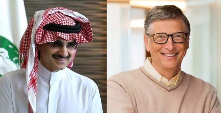 بصفقة مليارية.. الوليد بن طلال يبيع فنادقه الفاخرة لـ بيل غيتس