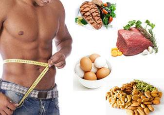اخسر الوزن مع رجيم البروتين