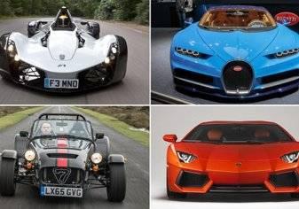 تعرف علي أسرع 10 سيارات في العالم يمكنك شراؤها الآن