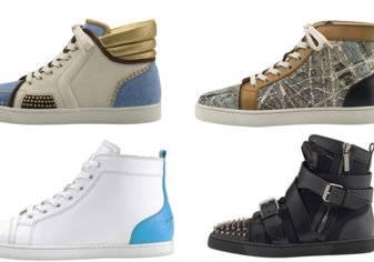 4 أحذية رياضية عصرية من كريستيان لوبوتان