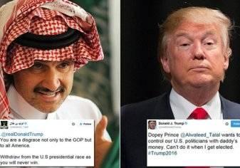 أنقذه من الافلاس ثم اتهمه بالكذب و انه عار و أخيرا هنأه بالرئاسة