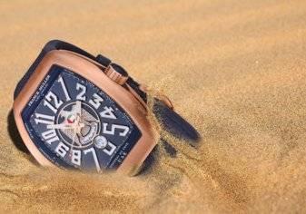 """ساعة """" أفتخر بأني إماراتي"""" من فرانك مولر: إبداع في التصميم"""