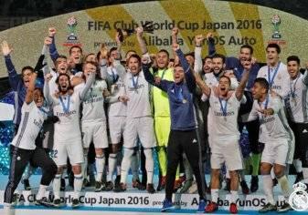 """ريال مدريد يتوج بجائزة """"جلوب سوكر"""" كأفضل ناد في العالم 2016"""