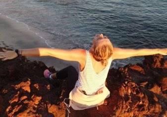 بالصور.. شارابوفا تستقبل 2017 بإطلالة ساحرة على جزيرة!