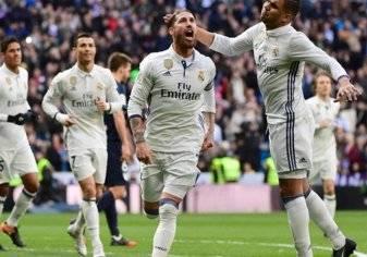 بالصور.. راموس يتوج ريال مدريد بطلاً للشتاء