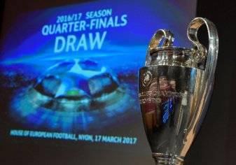 صورة.. قرعة نارية في ربع نهائي دوري أبطال أوروبا