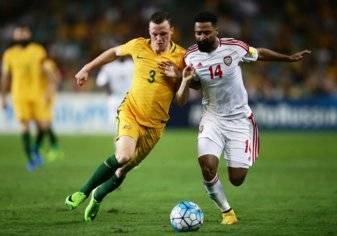 بالصور.. الإمارات تودع حلم المونديال بخسارة أمام أستراليا