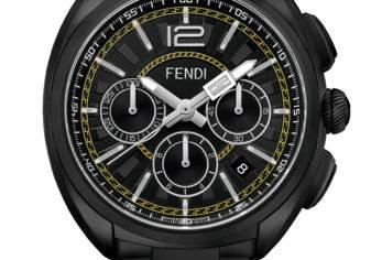 ساعات Fendi Momento Fendi Chronograph الجديدة للرجال