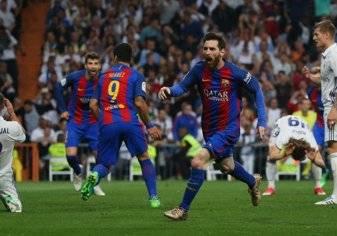 20 صورة ترصد فوز برشلونة على ريال مدريد
