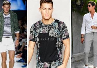 صيحات موضة صيف 2017: أزياء جريئة للرجل القويّ والمتمرّد