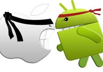 أندرويد (Android) مقابل الآي-أو-إس (iOS): صراع الجبابرة