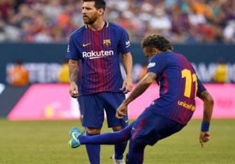 تصرف غريب من ميسي يؤكد رحيل نيمار عن برشلونة