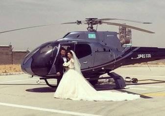 أغرب موكب زفاف في العالم يكاد يتحول لكارثة بسبب قائد طائرة متهور (فيديو)