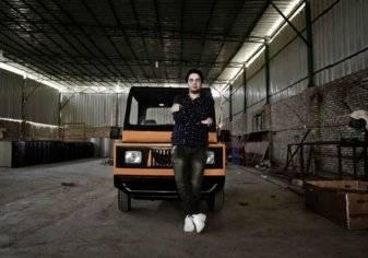 شاب مصري يصبح حديث وسائل الإعلام العالمية بسبب السيارة التي اخترعها