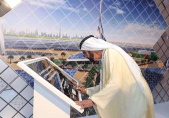 دبي تطلق أعلى برج شمسي في العالم