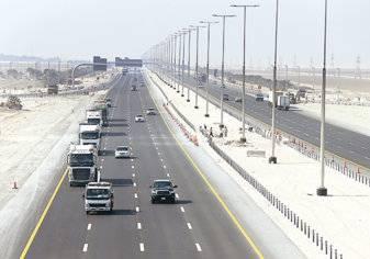 """تعديل سرعة المركبات الخفيفة على طريق الشيخ خليفة بن زايد """"المفرق-الغويفات"""""""