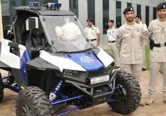 شرطة أبوظبي تكشف عن دراجة ذكية بتقنيات حديثة