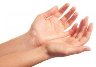 راقب حالتك الصحية من شكل يدك