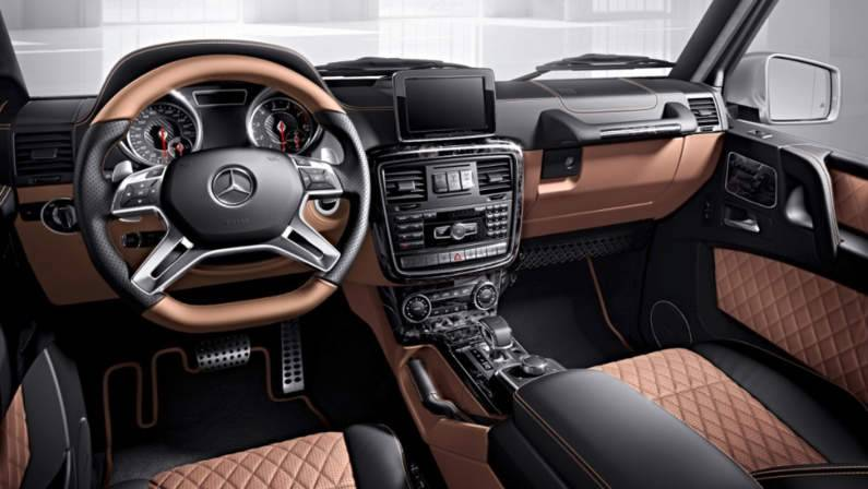 Mercedes-Benz G-Class, designo manufaktur, interior leather sandblack.jpg