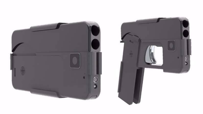 مسدس علي شكل هاتف ذكي.jpg